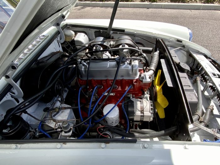 Mgb 1974 blanche moteur