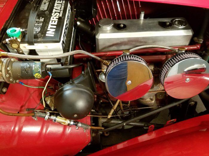 Mg td 1952 moteur