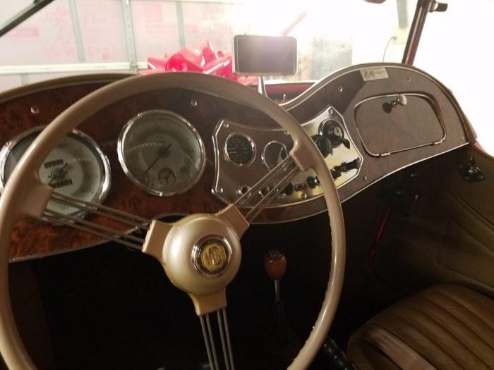 Mg td 1952 tableau de bord