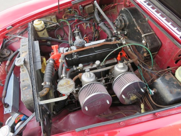 Mgb 1968 moteur