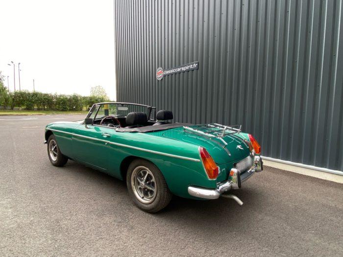 Mgb 1973 verte arrière gauche